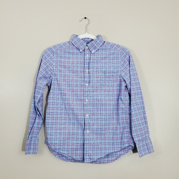 Polo by Ralph Lauren Other - Polo Ralph Lauren Plaid Blue and Pink Long…